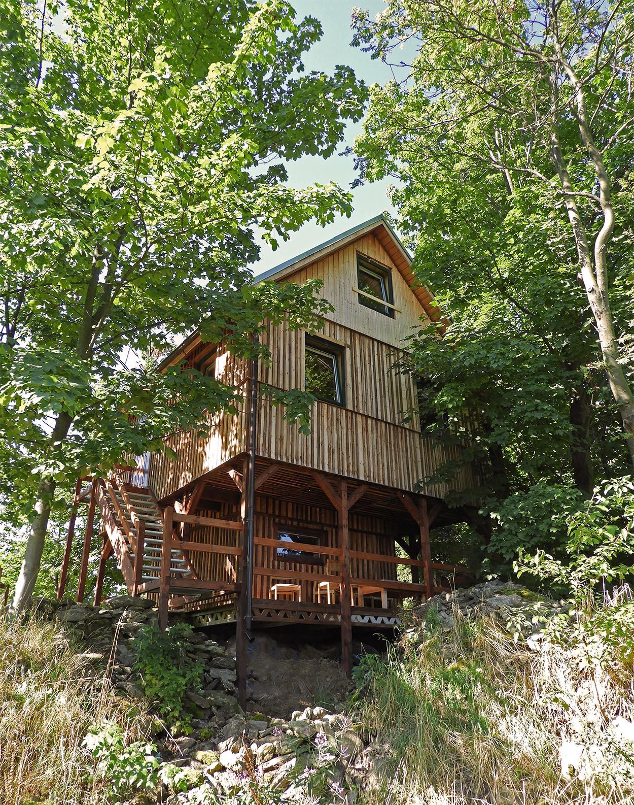 leśny domek izerski domek do wynajęcia