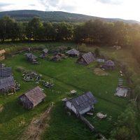 średniowieczna osada